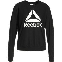 Reebok WOR CREW NECK Koszulka sportowa black. Czarne topy sportowe damskie marki Reebok, xs, z elastanu, z długim rękawem. W wyprzedaży za 188,10 zł.