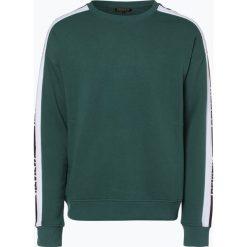 Bluzy męskie: Review - Męska bluza nierozpinana, zielony