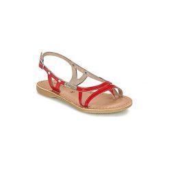 Sandały Dziecko  Les Tropéziennes par M Belarbi  ISATIS. Czerwone sandały dziewczęce Les Tropéziennes par M Belarbi. Za 191,20 zł.