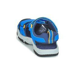 Sandały sportowe Dziecko  Teva  HURRICANE TOE PRO. Niebieskie buty sportowe chłopięce Teva. Za 191,20 zł.