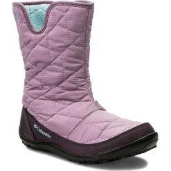 Kozaki dziewczęce: Śniegowce COLUMBIA – Youth Minx Slip Omni-Heat Waterproof BY1329 Violet Haze/Oxygen 541