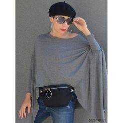 NERKA TOREBKA NA PAS czarna zamszowa. Czarne torebki klasyczne damskie marki Pakamera, z zamszu, zamszowe. Za 149,00 zł.