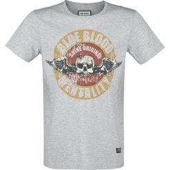 T-shirty męskie z nadrukiem: Shine Original Burton T-Shirt szary