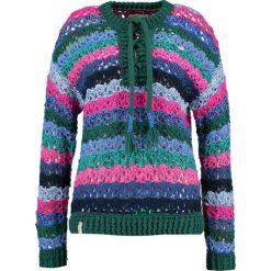 Swetry klasyczne damskie: khujo ANTHELIA Sweter multicoloured/green