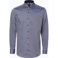 Olymp Level Five - Koszula męska łatwa w prasowaniu, niebieski. Niebieskie koszule męskie non-iron marki OLYMP Level Five, m, paisley, ze stójką. Za 149,99 zł.