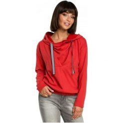 Bewear Bluza Damska M Czerwony. Czerwone bluzy damskie BeWear, l, z materiału. Za 229,00 zł.