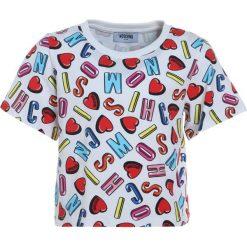 MOSCHINO Tshirt z nadrukiem alphabet heart color. Szare t-shirty chłopięce MOSCHINO, z nadrukiem, z bawełny. Za 249,00 zł.