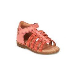 Sandały Dziecko  Aster  NIME. Czerwone sandały dziewczęce marki ASTER. Za 239,20 zł.