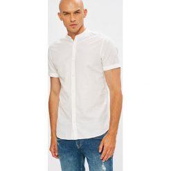 Premium by Jack&Jones - Koszula. Brązowe koszule męskie na spinki marki QUECHUA, m, z elastanu, z krótkim rękawem. W wyprzedaży za 139,90 zł.