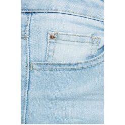 Vila - Jeansy. Niebieskie jeansy damskie marki Vila. W wyprzedaży za 99,90 zł.