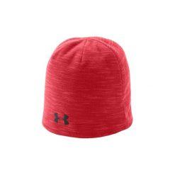 Czapki Under Armour  Storm Fleece Beanie 1321238-600. Czerwone czapki zimowe męskie Under Armour. Za 79,99 zł.