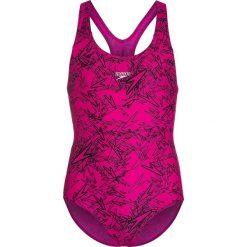 Stroje jednoczęściowe dziewczęce: Speedo BOOM  Kostium kąpielowy electric pink/black