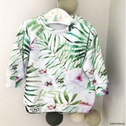 Bluzy dziewczęce rozpinane: Bluza dziecięca FLOWER