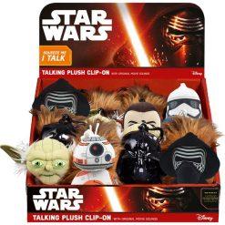 Przytulanki i maskotki: Gwiezdne wojny, Mówiąca maskotka z zawieszką – SW-02375