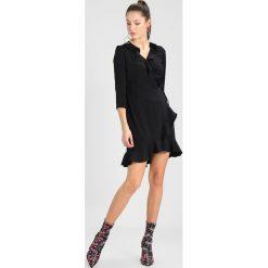 Sukienki hiszpanki: Vero Moda VMHENNA WRAP DRESS Sukienka letnia black
