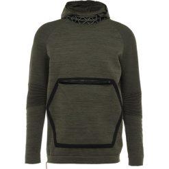 Puma N.R.G. EVOKNIT HOODIE Sweter forest night heather. Czerwone swetry klasyczne męskie marki Puma, xl, z materiału. Za 509,00 zł.