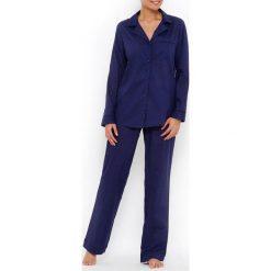 Piżamy damskie: Piżama z haftem atłaskowym