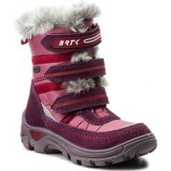 Buty zimowe chłopięce: Śniegowce BARTEK – 24426-122 Różowy