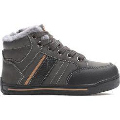 Szare Buty Sportowe Bowing. Szare buty sportowe chłopięce Born2be, z materiału, z okrągłym noskiem, na zamek. Za 69,99 zł.