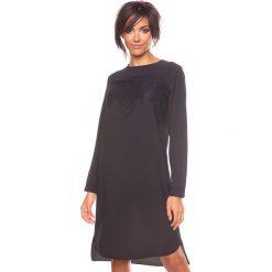 """Sukienki hiszpanki: Sukienka """"Sienna"""" w kolorze czarnym"""