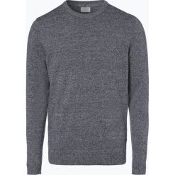Jack & Jones - Sweter męski – Jjebasic, niebieski. Niebieskie swetry klasyczne męskie Jack & Jones, l, z dzianiny. Za 69,95 zł.