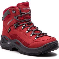Trekkingi LOWA - Renegade Gtx Mid Ws GORE-TEX 320945 Red 0340. Czerwone buty trekkingowe damskie Lowa. W wyprzedaży za 729,00 zł.