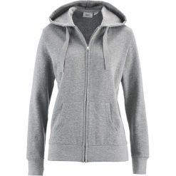 Bluza rozpinana bonprix jasnoszary melanż. Czarne bluzy rozpinane damskie marki DOMYOS, z elastanu. Za 59,99 zł.