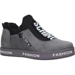 Szare buty sportowe sneakersy Casu PB-2. Czarne buty sportowe damskie marki Casu. Za 69,99 zł.