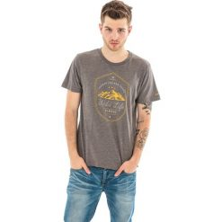 Hi-tec Koszulka męska Wilde Light Brown Melange r. L. Brązowe koszulki sportowe męskie Hi-tec, l. Za 49,99 zł.