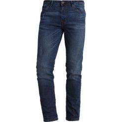 Spodnie męskie: Springfield Jeans Skinny Fit blues