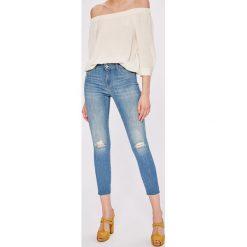 Miss Sixty - Jeansy Landis. Niebieskie jeansy damskie Miss Sixty, z bawełny. W wyprzedaży za 299,90 zł.