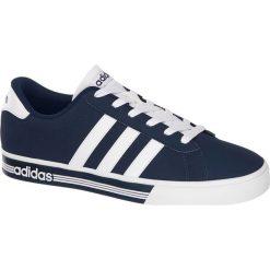 Buty męskie Adidas Daily Team adidas niebieskie. Niebieskie halówki męskie Adidas, z gumy. Za 239,90 zł.