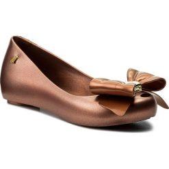 Baleriny MELISSA - Ultragirl Sweet XIV Ad 32252 Copper 06559. Szare meliski damskie marki Melissa, z gumy. W wyprzedaży za 189,00 zł.