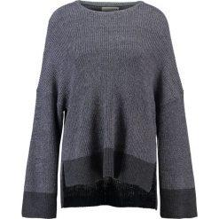 Swetry klasyczne damskie: Native Youth MERIDIAN  Sweter grey