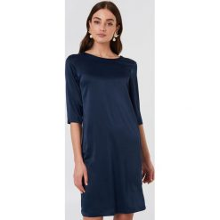 Rut&Circle Sukienka Essie - Blue,Navy. Niebieskie sukienki mini Rut&Circle, z poliesteru, z dekoltem na plecach, z krótkim rękawem. W wyprzedaży za 48,59 zł.