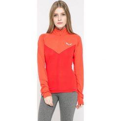 Salewa - Bluza. Różowe bluzy damskie marki Salewa, s, z dzianiny, z krótkim rękawem, krótkie, bez kaptura. W wyprzedaży za 229,90 zł.
