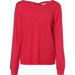 Vila - Sweter damski – Viril, różowy. Czerwone swetry klasyczne damskie marki Vila, l, z klasycznym kołnierzykiem. Za 139,95 zł.