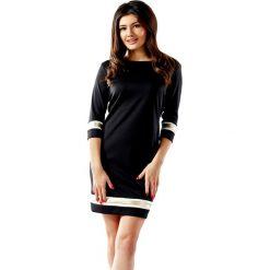 Sukienki balowe: Sukienka w kolorze czarnym ze wzorem