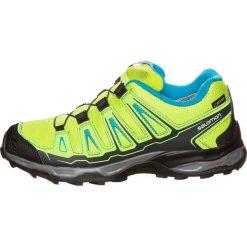 Salomon XULTRA GTX  Obuwie do biegania Szlak lime punch/lime green/hawaiian ocean. Zielone buty do biegania damskie marki Salomon, z gumy. W wyprzedaży za 293,30 zł.