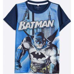 Name it - T-shirt dziecięcy 104-128 cm. Szare t-shirty męskie z nadrukiem Name it, z bawełny. W wyprzedaży za 29,90 zł.