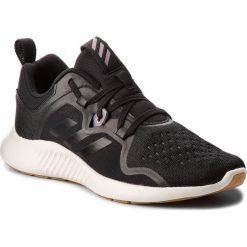 Buty adidas - Edgebounce W BB7566  Cblack/Cblack/Ngtmet. Czarne buty do biegania damskie marki Adidas, z kauczuku. W wyprzedaży za 279,00 zł.