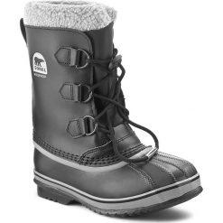 Śniegowce SOREL - Yoot Pac Tp NY1880 Black 010. Czarne buty zimowe damskie Sorel, z gumy, na niskim obcasie. W wyprzedaży za 259,00 zł.