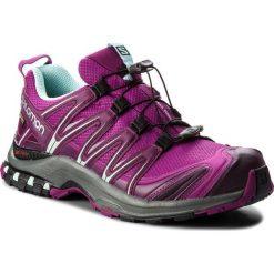 Buty SALOMON - Xa Pro 3D Gtx GORE-TEX 404723 23 V0 Hollyhock/Dark Purple/Eggshell Blue. Czarne buty sportowe damskie marki Salomon, z gore-texu, na sznurówki, outdoorowe, gore-tex. W wyprzedaży za 489,00 zł.