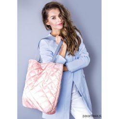 Torba basic fioletowe pikowanie. Fioletowe torebki klasyczne damskie Pakamera, pikowane. Za 89,00 zł.