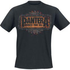 T-shirty męskie: Pantera Cowboys From Hell Buzz Saw T-Shirt czarny
