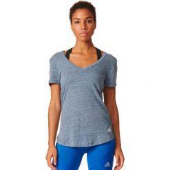 Bluzki damskie: Adidas Koszulka damska Logo V-Tee szara r. XS (AZ3060)