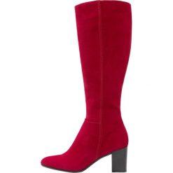 Lamica ENTE Kozaki rosso. Czerwone buty zimowe damskie Lamica, z materiału. Za 669,00 zł.