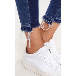 Mavi ADRIANA ANKLE Jeans Skinny Fit indigo blocking denim. Niebieskie rurki damskie Mavi. W wyprzedaży za 200,85 zł.