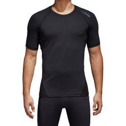 Odzież termoaktywna męska: koszulka termoaktywna męska ADIDAS TECHFIT ALPHASKIN SPORT TEE / CF7235 - TECHFIT ALPHASKIN