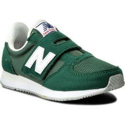 Trampki chłopięce: Sneakersy NEW BALANCE – KV220GY Zielony